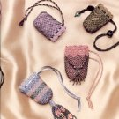CROCHETED BEADED BAGS by MARGARET SNOUFFER BOOKLET CRAFT BOOK NEW