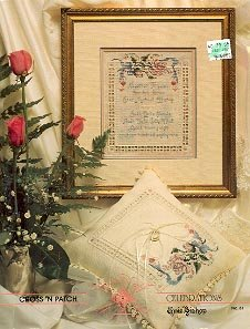 CROSS 'N PATCH CELEBRATIONS CROSS STITCH BOOKLET by EMIE BISHOP CRAFT BOOK  NEW