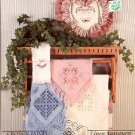 CROSS 'N PATCH LINEN POTPOURRI CROSS STITCH BOOKLET by EMIE BISHOP CRAFT BOOK  NEW