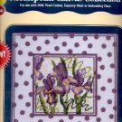 IRIS POLKA DOT DMC NEEDLEPOINT CANVAS COLLECTION CRAFT BOOK NEW