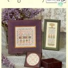 SPRING MEDLEY CROSS STITCH BOOKLET by ELIZABETH'S DESIGNS CRAFT BOOK  NEW