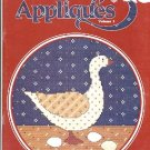 COUNTRY APPLIQUES VOLUME 1 COUNTED CROSS STITCH BOOKLET DESIGNS by GLORIA AND PAT CRAFT BOOK