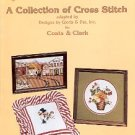 A COLLECTION OF CROSS STITCH DESIGNS BY GLORIA AND PAT BOOKLET CRAFT BOOK NEAR MINT