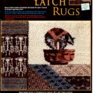 GRAPH N' LATCH RUGS BEAR FETISH  #37511 MCG TEXTILES CRAFT BOOK NEW
