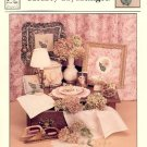 HEARTY HYDRANGEA COUNTED CROSS STITCH LEAFLET by MAUREEN APPLETON HEARTs CONTENT CRAFT BOOK  NEW