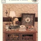 PRECIOUS PEONY CROSS STITCH LEAFLET by MAUREEN APPLETON HEARTs CONTENT CRAFT BOOK NEW