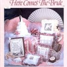HERE COMES THE BRIDE COUNTED CROSS STITCH DESIGNED by MELINDA CRAFT BOOK NEAR MINT