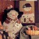 MAMA SNOW CROSS STITCH BOOKLET DESIGNS by SANDRA SULLIVAN HOMESPUN ELEGANCE CRAFT BOOK  NEW