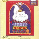 KIMBERLY's KENNEL SERIES  FLUFFY CROSS STITCH KIT DESIGNED by KIMBERLY MONTGOMERY CRAFT KIT NEW