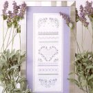 LAVENDER PATH CROSS STITCH LEAFLET by PATRICIA ANN DESIGNS CRAFT BOOK  NEW