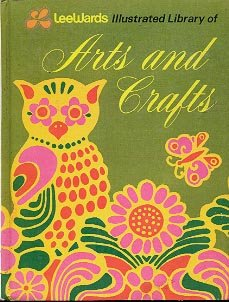 LEEWARDS ILLUSTRATED LIBRARY OF ARTS AND CRAFTS VOL 4 CRAFT HARDBACK BOOK GOOD CONDITION