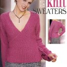 DESIGNER DETAIL KNIT SWEATERS 9 DESIGNS BOOKLET LEISURE ART CRAFT BOOK NEW NEAR MINT