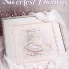 SWEETEST DREAMS GOD BLESS BABY DESIGNED BY D. MORGAN 1989 LEISURE ARTS LEAFLET CRAFT BOOK NEAR MINT