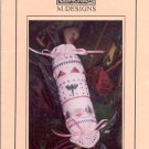 DRAGONFLY NEEDLE ROLL CROSS STITCH LEAFLET by M DESIGNS CRAFT BOOK  NEW