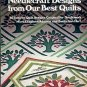 NEEDLECRAFT DESIGNS FROM OUR BEST QUILTS 20 NEEDLEPOINT PATTERNS CRAFT BOOK NEAR MINT