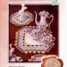 PARLOR DRESS UP CROCHET DOILY BOOKLET  CRAFT BOOK NEAR MINT