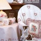 ROSES & ROSE BUDS CROSS STITCH LEAFLET by ROSEMARY DRYSDALE 1989 CRAFT BOOK MINT