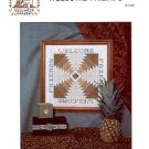 ROSEWOOD MANOR WELCOME FRIENDS CROSS STITCH BOOKLET by KAREN KLUBA CRAFT BOOK NEW