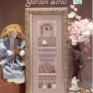 GARDEN STROLL CROSS STITCH LEAFLET by BARBARA L. PETERSON  SOMETHING IN COMMON CRAFT BOOK NEW