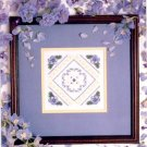 SPRING FORGET ME NOTS CROSS STITCH BOOKLET by PATRICIA ANN BAGE DESIGNS CRAFT BOOK NEW