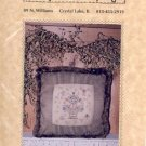 FLORAL URN CROSS STITCH PATTERN SUNFLOWER SAMPLINGS CRAFT BOOK NEW