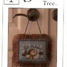 LET IT SNOW KNOB KNOCKER CROSS STITCH by SANDRA COX VANOSDALL SWEETHEART TREE CRAFT BOOK NEW