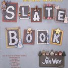 THE CREATIVE WAY MEMO MAKER SLATE BOOK WOODWORKING BOOKLET by JAN WAY CRAFT BOOK NEAR MINT