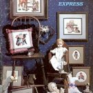 THE DREAMLAND EXPRESS BOOK 17 CROSS STITCH BOOKLET by STONEY CREEK 1985 CRAFT BOOK NEAR MINT
