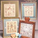 "THEE AND ME CROSS STITCH BOOKLET ""GOURD TREE"" by JO SONJA CRAFT BOOK NEAR MINT"