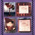 WHISTLEPIG CREEK MR KRINGLE WEATHERVANE - FRAME-PILLOW CRAFT PATTERN BY SUSAN MARSH CRAFT BOOK NEW