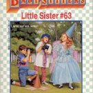 KAREN'S MOVIE by ANN M. MARTIN BABY-SITTERS LITTLE SISTER # 63 PAPERBACK BOOK 1995 NEAR MINT