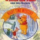 WALT DISNEYS WINNIE THE POOH & HIS FRIENDS NIGHT TIME MYSTERY CHILDREN'S HARDBOARD BOOK V-GOOD