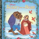 DISNEY'S BEAUTY & THE BEAST #3 A LITTLE GOLDEN BOOK 1991 CHILDREN'S HARDBACK BOOK NEAR MINT