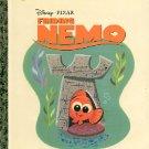 DISNEY - PIXAR  FINDING NEMO  A LITTLE GOLDEN BOOK  CHILDREN'S HARDBACK BOOK 2003 MINT