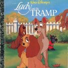 WALT DISNEY'S LADY AND THE TRAMP LITTLE GOLDEN BOOK 1997 CHILDREN'S HARDBACK BOOK GOOD CONDITION