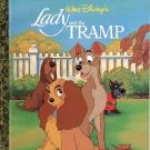 WALT DISNEY'S LADY AND THE TRAMP A LITTLE GOLDEN BOOK 2000 CHILDREN'S HARDBACK BOOK MINT