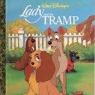 WALT DISNEY'S LADY AND THE TRAMP A LITTLE GOLDEN BOOK 2000 CHILDREN'S HARDBACK BOOK MINT