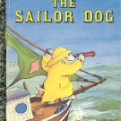 THE SAILOR DOG LITTLE GOLDEN BOOK 1992 CHILDREN'S HARDBACK VERY GOOD