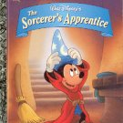 WALT DISNEYS THE SORCERERS APPRENTICE LITTLE GOLDEN BOOK 1994 CHILDREN'S HARDBACK VERY GOOD COND