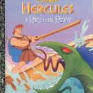 DISNEY'S HERCULES RACE TO THE RESCUE 1ST ED A LITTLE GOLDEN BOOK 1997 CHILDREN'S HARDBACK NEAR MINT