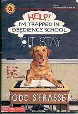 APPLE PAPERBACKS HELP I'M TRAPPED IN OBEDIENCE SCHOOL 1995 CHILDREN'S PAPERBACK BOOK VERY GOOD COND