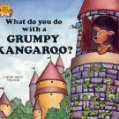 WHAT DO YOU DO WITH A GRUMPY KANGAROO 1988 CHILDREN'S PAPERBACK BOOK MINT