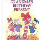 GRANDMAS B-DAY PRESENT FUN DEPARTMENT STORE WORDS DISNEYS RHYMING READER CHILDRENS HARDBACK NMINT