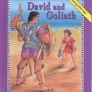 DAVID AND GOLIATH BY LAURENCE SCHORSCH 1992 READ ALONG WITH ME CHILDREN'S HARDBACK BOOK MINT