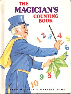 THE MAGICIAN'S COUNTING BOOK by HELEN FRANCES STANLEY 1973 CHILDREN'S HARDBACK VERY GOOD COND
