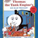 THOMAS THE TANK ENGINE'S BIG BLUE TREASURY BY CHRISTOPHER AWDRY 1995 CHILDREN'S HARDBACK BOOK NMINT