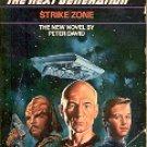 STAR TREK - THE NEXT GENERATION  # 5 STRIKE ZONE  BY JEAN LORRAH 1989 PAPERBACK BOOK NEAR MINT
