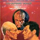 STAR TREK  THE NEXT GENERATION BOOK # 8 THE CAPTAINS' HONOR BY DAVID & DANIEL DVORKIN PAPERBACK BK