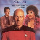 STAR TREK - THE NEXT GENERATION # 18 Q-IN-LAW BY PETER DAVID 1991 PAPERBACK BOOK GOOD CONDITION