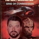 STAR TREK THE NEXT GENERATION # 29 SINS OF COMMISSION BY SUSAN WRIGHT 1994 PAPERBACK BOOK NEAR MINT